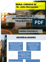 Antibioticos y Antitromboticos Amfs