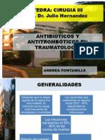 Antibioticos y Antitromboticos Amfs