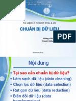 2Summer 2012 - Data Preprocessing