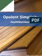 DeathlikeSilence - Opulent Simplicity