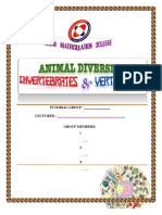 Animal Diversity (Invertebrates & Vertebrates) folio