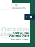 Curriculo Nacional Preprimaria