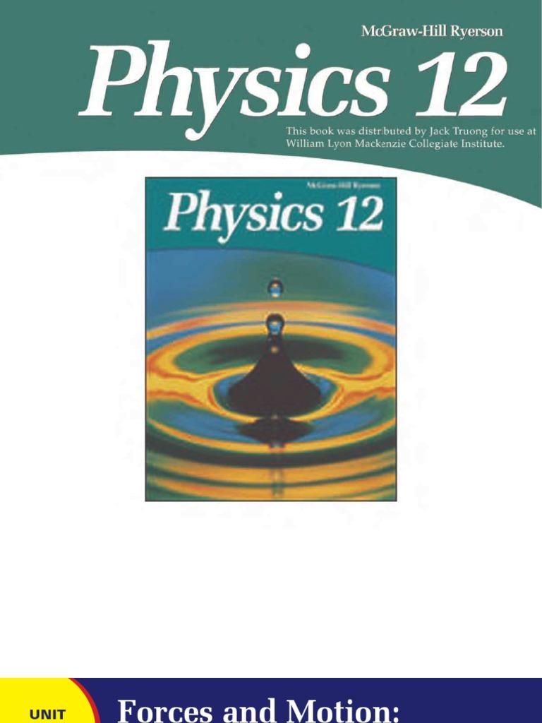 McGraw-Hill Ryerson Physics Gr 12 v2_Part1   Inertia   Force