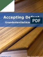 GrandeVanillaSkimLatte - Accepting Defeat