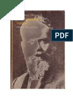 63136904 Edmund Husserl Investigaciones Logicas I