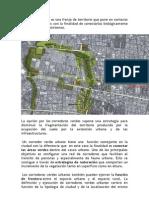 Corredores Verdes Urbanos