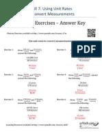 Skill 7 Mastery - Answer Key