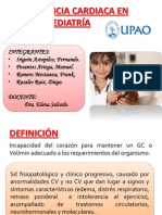 INSUFICIENCIA CARDIACA EN PEDIATRÍA