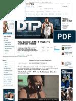 Kris Gethin DTP 4 Weeks to Maximum Muscle