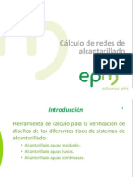 Manual de usuario - Cálculo de redes de Alcantarillado EPM V.1.1