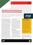 Panel Board ShortCircuit Ratings
