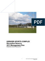 Web Version Kerikeri Sports Complex Reserve Management Plan