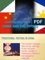 China and Philippines