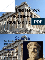 contributionsofgreekcivilization-121017120529-phpapp01