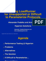 Using LoadRunner for Unsupported or Difficult to Parameterize ...
