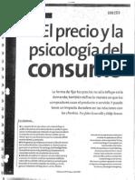 El Precio y la Psicología del Consumo
