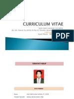 Curriculum Vitae Master and Bachelor Degree Of Nur Fadli Hazhar Fachrial
