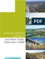 ANZECC Guidelines and Water Quality Objectives in NSW
