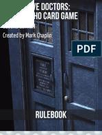 The Twelve Doctors Rulebook v4