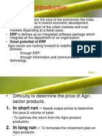 Erp in Agriculture