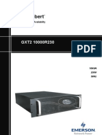 Emerson Liebert GTX2 Service Manual