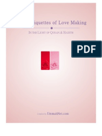 Fiqh / Etiquettes of Love Making