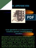 Lecture Appendicitis