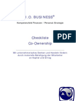 (Checkliste) Co-Ownership