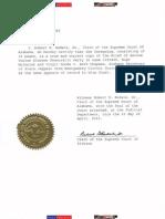 AL SC Certified Copy Amicus Curiae Alabama Democratic Party 1120465 Missing Evidence
