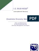 (Checkliste) Diversity Management