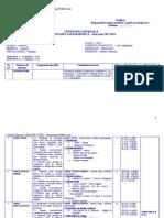 Literatura Universala Xi - Planificare Calendaristica