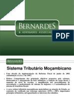 sistema tributario de mocambique