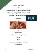 Banking & Financial Institutions_Aditya Birla Finance