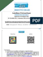 Libretto orari Lucca