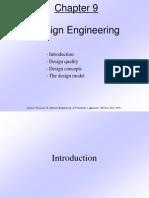 Pressman Ch 9 Design Engineering