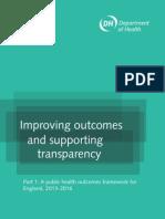 Un Marco de Resultados de Salud Publica