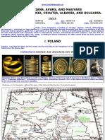 Hung Sarmatians, Avars, And Magyars in Poland, Lithuania, Croatia, Albania, And Bulgaria, Historical Evidence