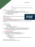 2013 BAA - Patient Assessment