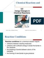 6.9 Energy Changes in Chemical Reactions