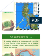 GBPC Earthquake Awareness
