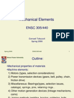 Mechanical Elements Lecture