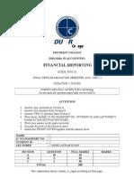 Finalexam-fin Reporting Dec2012
