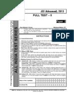 Paper Aits 2013 FIITJEE Paper 2