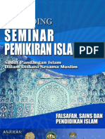 PEMIKIR III - Falsafah, Sains Dan Pendidikan Islam
