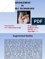 Advancement in Mobile Technology
