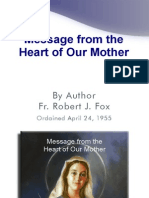 Messages from the Heart of Our Mother by Fr. Robert J. Fox