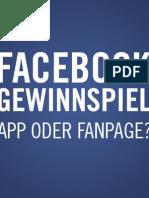 Facebook Gewinnspiele Whitepaper