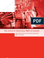 The State of Industrial R&D in Canada