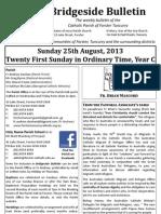 2013-08-25 - 21st Ordinary Year C