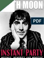 Keith Moon_ Instant Party - Alan Clayson